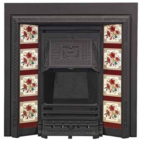 Tiled Fireplace Insert by Tiled Fireplace Insert Fireplaces
