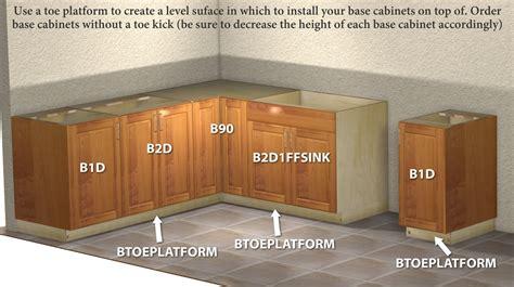 Kitchen Cabinet Assembly Base Toe Kick Platform V2