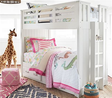 pottery barn bunk beds belden twin over twin bunk bed pottery barn kids