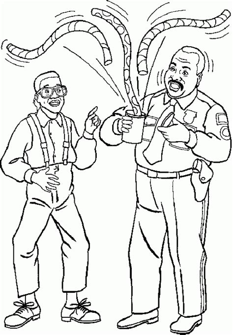 steve urkel coloring pages sketch coloring page