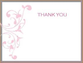 thank you template cards search results for free printable thank you