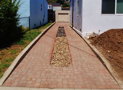 Paver Patio Drainage Wilson Environmental Contracting