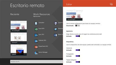 descargar conexion a escritorio remoto descargar escritorio remoto de microsoft gratis en espa 241 ol