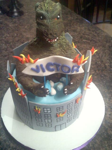 Diskon Kong Birthday Isi 3 1000 images about godzilla cake on the