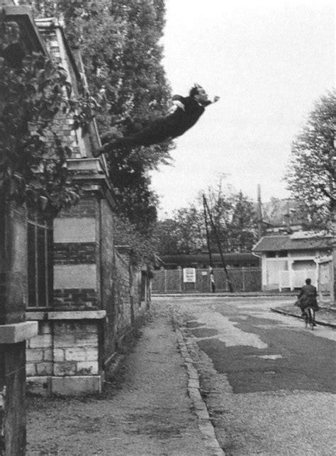 Leap Into the Void [Yves Klein] | Photography | Yves klein