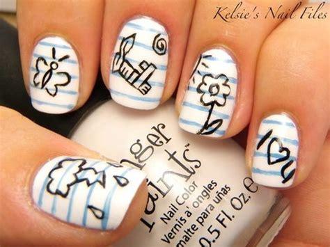 doodlebug nailz fashion girly nails image 638726 on favim