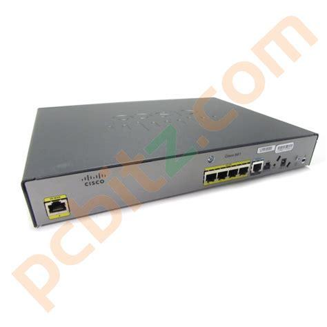 Router Cisco 881 Sec K9 cisco 881 cisco881 sec k9 v02 ethernet security router no ac adapter ebay