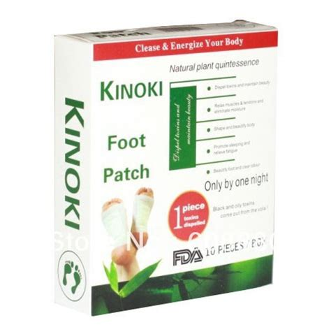 Kinoki Detox Foot Pads Ingredients by Aliexpress Buy Kinoki Detox Foot Patches 10pcs Box