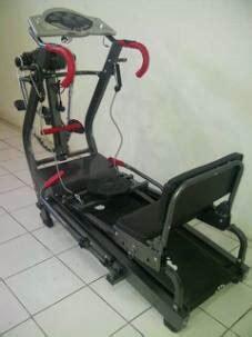 Alat Fitness Treadmil Manual Anti Gores 5in1 Tl 003ag jual treadmil manual murah 42 fungsi treadmill murah