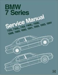 free auto repair manuals 2000 bmw 7 series electronic toll collection 1988 1994 bmw 7 series e32 official factory service manual