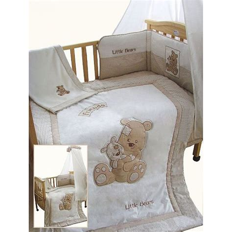 Cot Bed Bumper Sets Uk Snuggle Bed Bears 5 Cot Cotbed Bedding Set Snuggle Bed From Emporium Home
