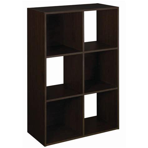 Closetmaid 24 Inch Shelf Closetmaid 6 Cube Organizer H Espresso Stackable 24 X 36