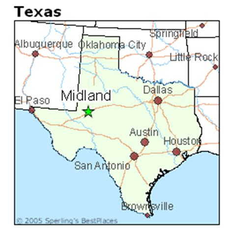 where is midland texas on a map of texas best places to live in midland texas