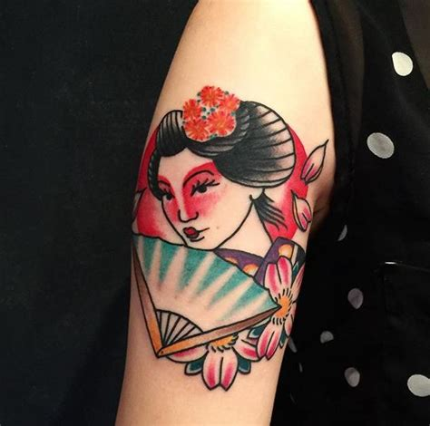 tattoo oriental samurai e gueixa 65 tatuagens de gueixa lindas e inspiradoras