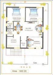 elevation and plan for 37 60 ft land facing 20x60 house plan gharexpert facing
