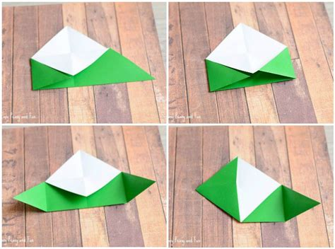 printable christmas origami bookmarks christmas tree corner bookmarks origami for kids easy