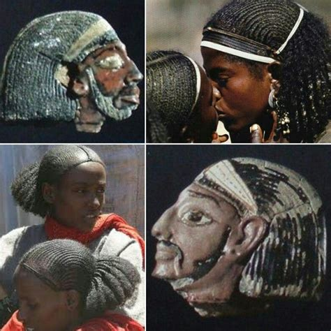 modern egyptian hairstyles ancient amorrite syrian cornrowed braids hairstyle worn