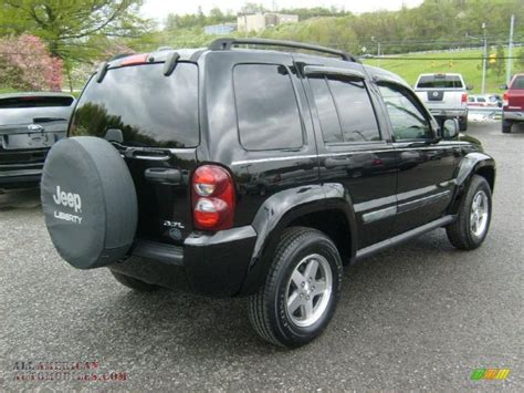 black jeep liberty 2005 2005 jeep liberty renegade 4x4 in black clearcoat photo 6