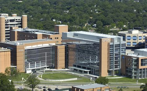 of arkansas for sciences uams hospital revenues up s arkansas