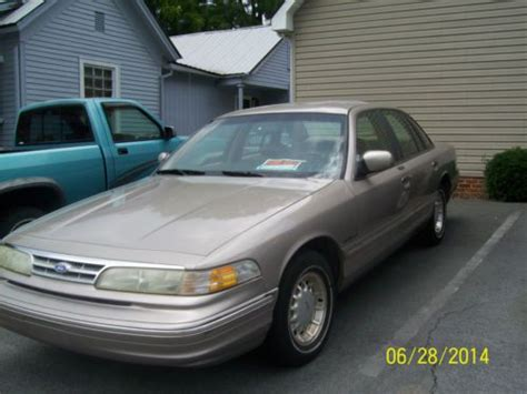 how to learn about cars 1995 ford crown victoria windshield wipe control find used 1995 ford crown victoria in johnson city tennessee united states for us 1 400 00
