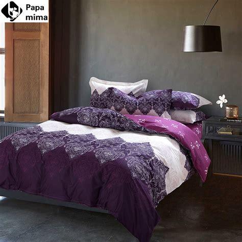 light purple comforter aliexpress com buy unique light purple bedding set 4pcs