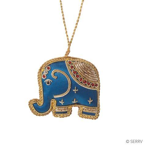 Elephant Ornament - zari elephant ornament