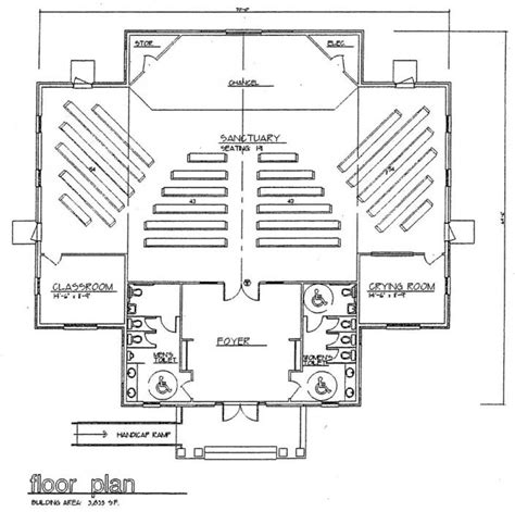 church designs and floor plans church plan 114 lth steel structures