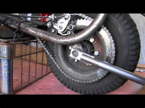 doodlebug wheelie jerry s mini bike wheelie bar phim clip