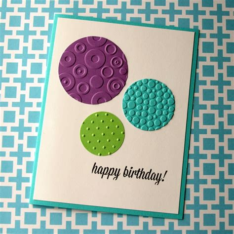 happy birthday card design inspiration embossed birthday card think crafts by createforless