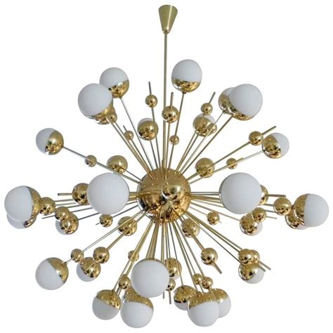 Sputnik Style Chandelier Brass Quot Sputnik Quot Style Chandelier For Sale At 1stdibs