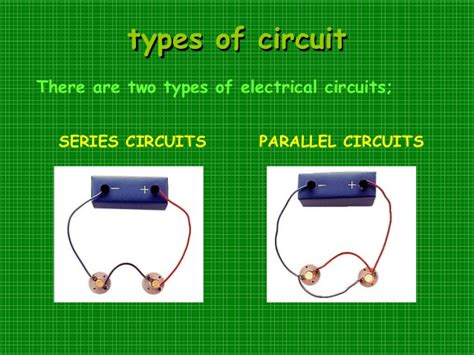 kinds of electric circuit electric circuits
