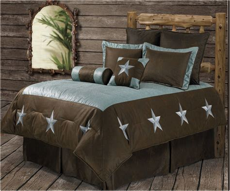 western bedding sets queen rwba9183 sq turquoise star western 6 piece bedding