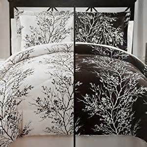 black and white tree bedding amazon com moderne collection 8 piece soft microfiber reversible black white tree branches bed