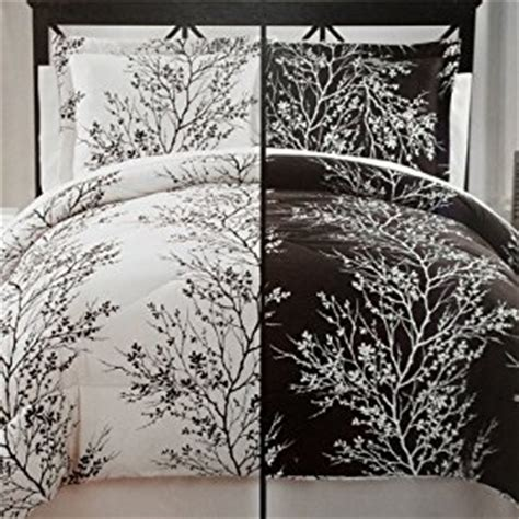 black and white tree bedding amazon com moderne collection 8 piece soft microfiber