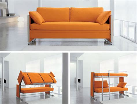 sofa becomes bunk bed you 8 highly unconventional modern bedroom