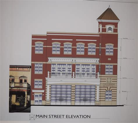 firehouse floor plans downsized station proposed highlands current