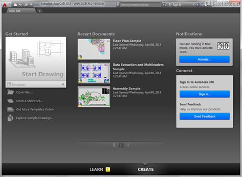 autocad 2015 view layout tabs what s new in autocad 2015 the interface cadnotes
