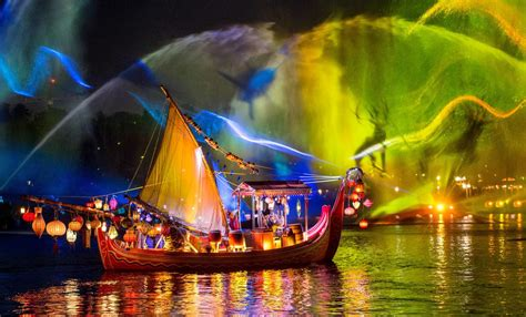 disney light opening date announced for rivers of light at disney s