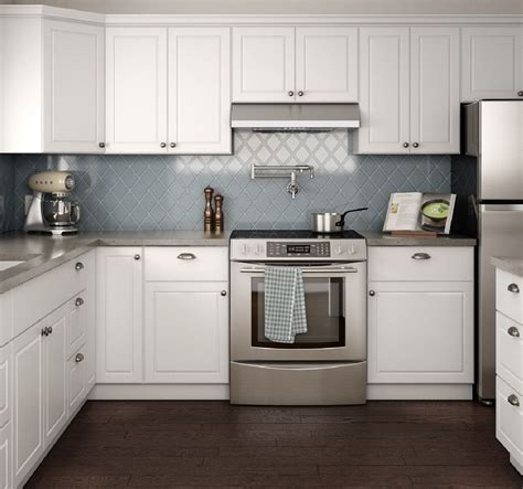 home depot white kitchen cabinets create customize your kitchen cabinets pantry cabinets in warm white the home depot