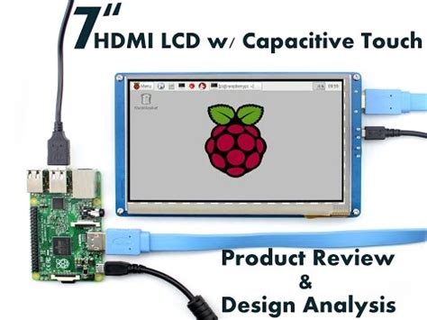 Raspberry Pi 7 Ips Lcd Capacitive Touchscreen W Housing Waveshare 7 inch 1024 600 lcd touch screen for the raspberry pi doovi