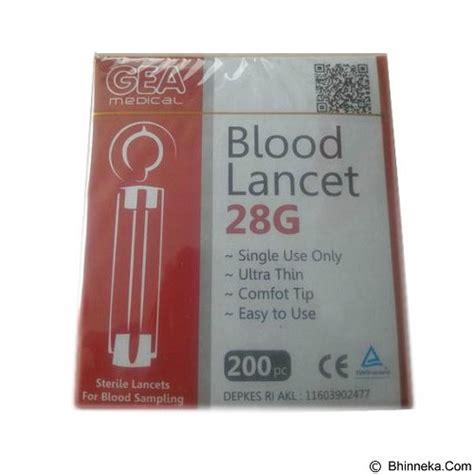 jual gea blood lancet isi 200 pcs merchant murah