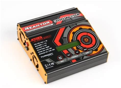 turnigy reaktor 300w 20a ac dc synchronous balance charger