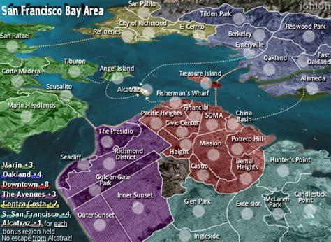 san francisco map quiz conquer club 17101798 play risk free