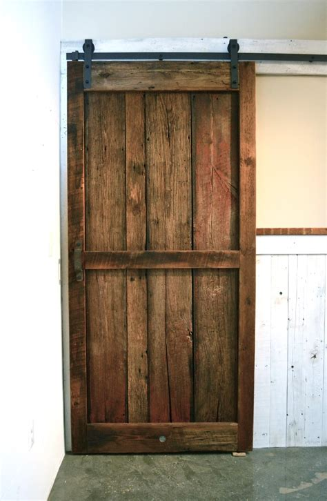 Reclaimed Barn Door Reclaimed Wood Barn Doors Baltimore Md Sandtown Millworks
