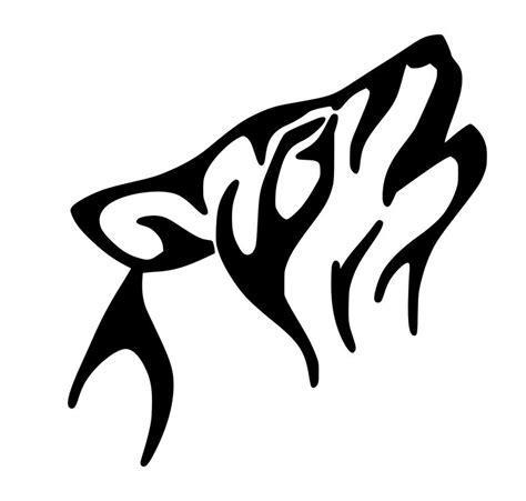 useable wolf airbrush stencil ebay