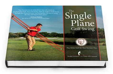 moe norman single plane golf swing moe norman golf the single plane golf swing book