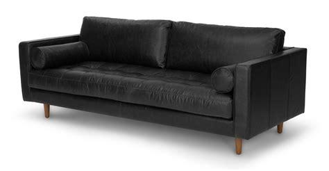 article sven sofa review sven oxford black sofa sofas article modern mid