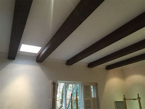 Do It Yourself Ceiling Beams, Stained   Faux Wood Workshop