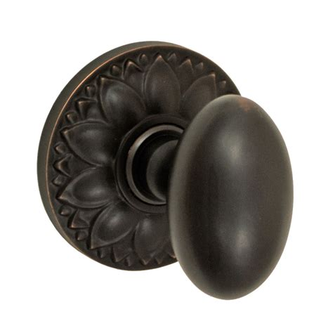 Decorative Interior Door Knobs Fusion Hardware 02 D8 Decorative Collection Egg Knob Set With Floral Atg Stores