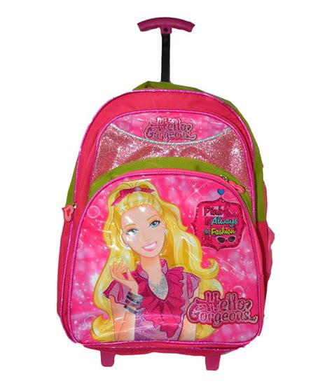 Doctor Pink Trolley 3 In 1 uniasia pink trolley bag pack for buy uniasia pink trolley bag